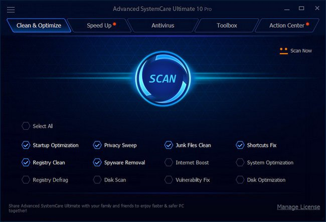 Advanced SystemCare Ultimate 12.0.1.90 Full Activation Key