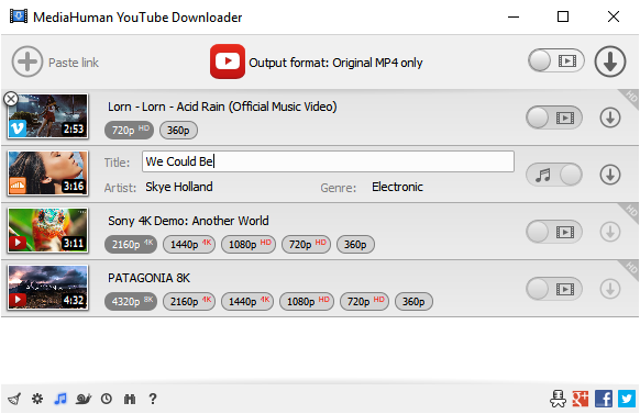 MediaHuman YouTube Downloader 3 With Activation Key Full Version